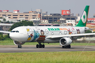 EVA AIR A330-300 B-16333 Hello Kitty | by Steven Weng