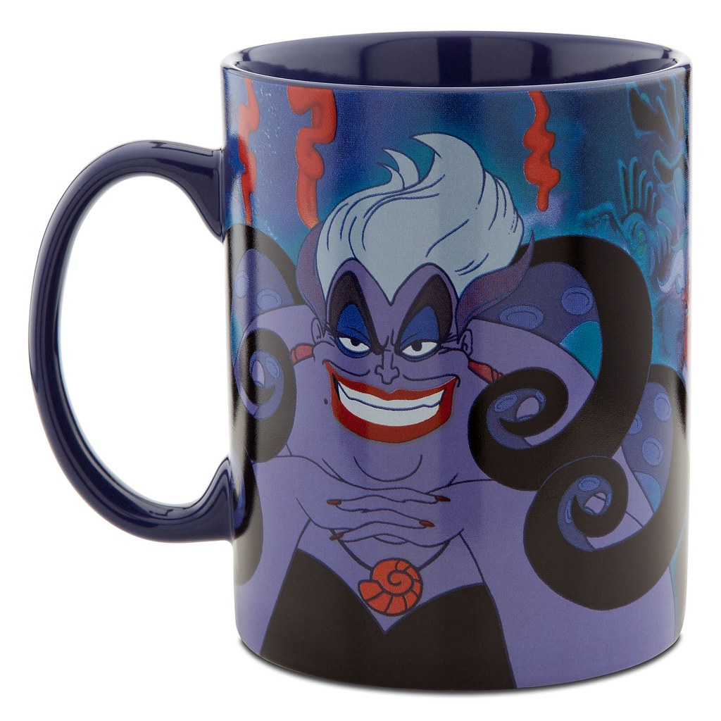 Disney Villains Ursula Mug Product Image 2 Www