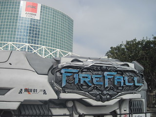 FireFall van outside Anime Expo | by jim61773