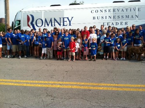 Portman Team with Romney Bus | by RobPortman