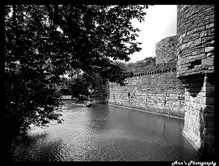 Moat at Beaumaris Castle | by mancunian61
