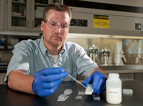 Researcher Dan Schabacker | by Argonne National Laboratory