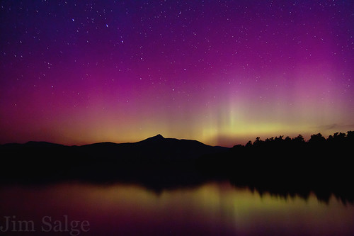 Aurora Over Chocorua Lake | by Jim Salge