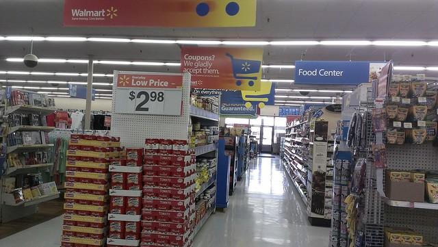 Wal Mart Baxter Springs Kansas Main Action Alley Flickr Photo Sharing