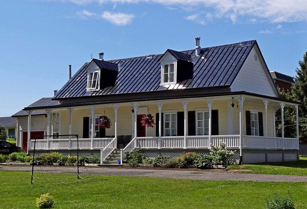 Maison de ste croix de lotbini re maison de ste croix de l flickr - Maisons canadiennes ...