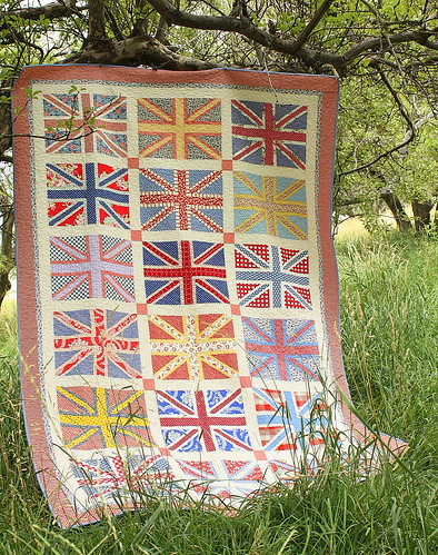 Union Jack Quilt | by amy smart