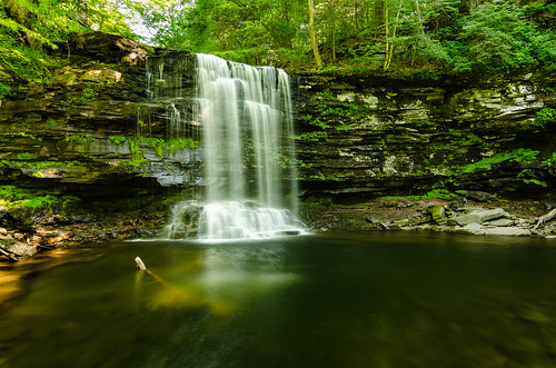 Harrison Wrights Fall, Ricketts Glen State Park | by EyeLensShot