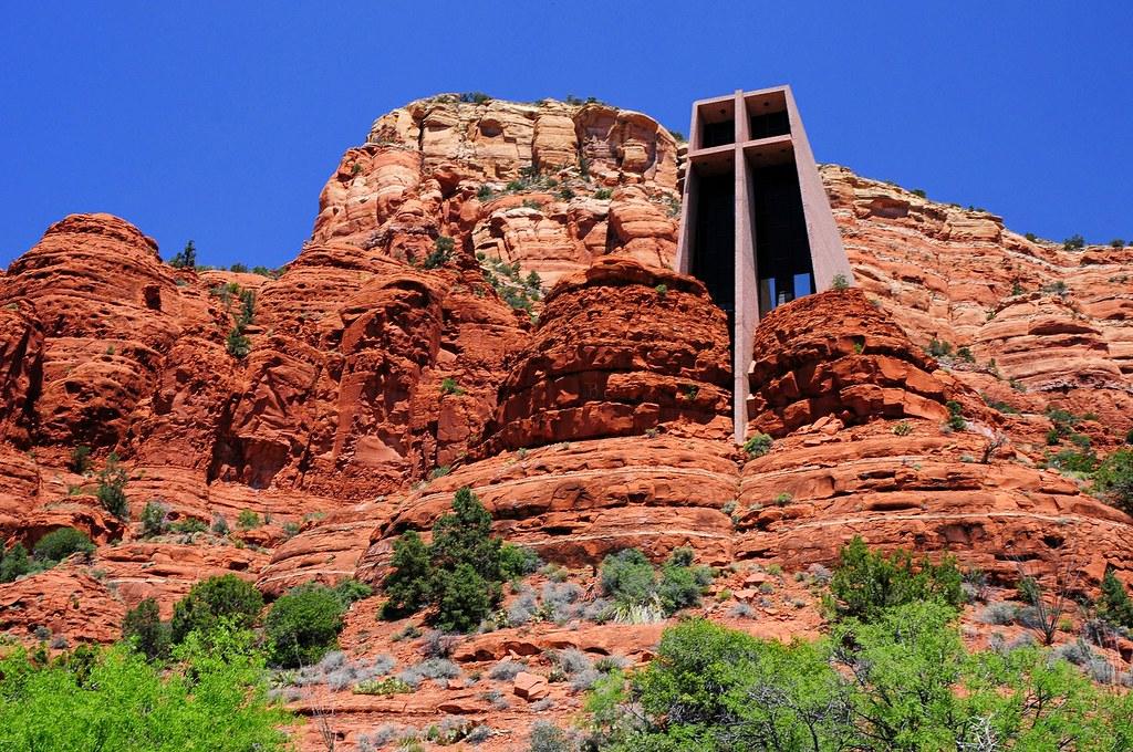 The Chapel Of The Holy Cross Sedona Arizona The Chapel