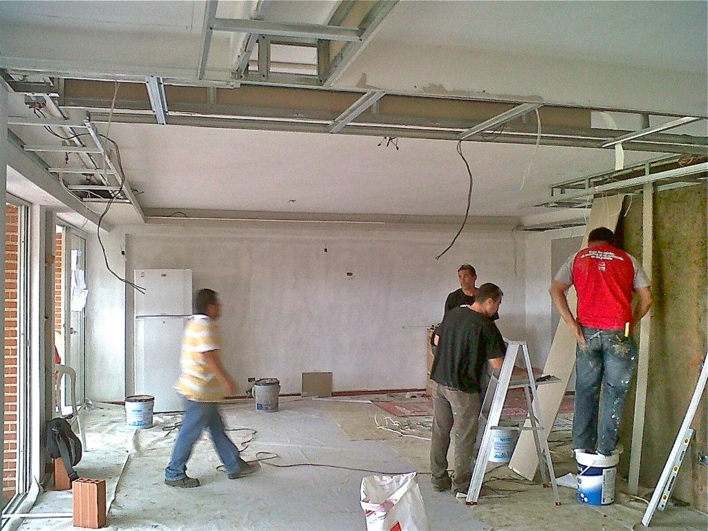 Dise o apartamento techo drywall remodelaci n y dise o for Techos en drywall para casas