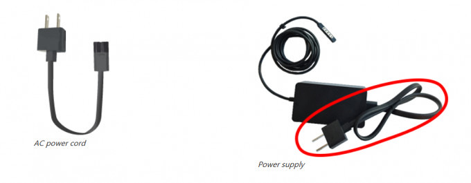 Microsoft began to replace the Surface Pro free power cord