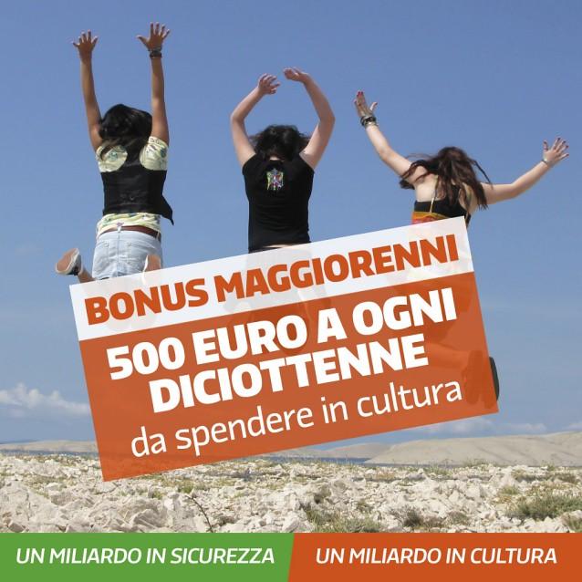 Bonus 500 euro per i 18enni: partenza bluff