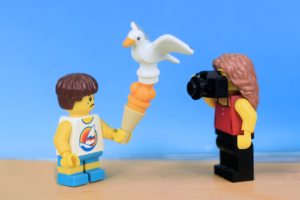 Lego Minifig Camera : Wait camera eats first mom hey one twoooo u flickr