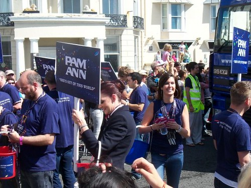 Pam Ann at Brighton Pride 2011 | by Waterford_Man