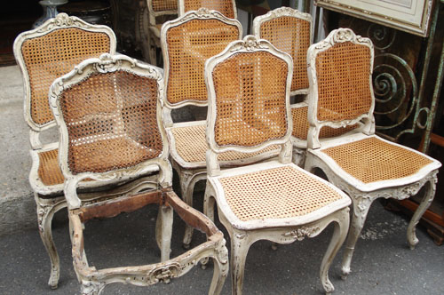 ... French Cane Chairs | by such pretty things & French Cane Chairs | The Paris Flea markets: Part I blogged u2026 | Flickr