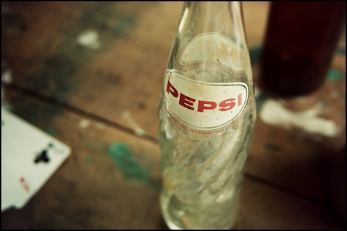 Pepsi, empty and old | by Eric Flexyourhead
