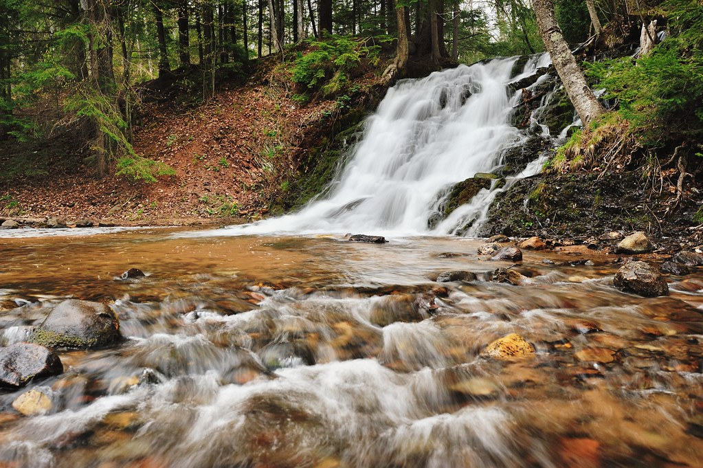 Morgan falls morgan creek marquette michigan flickr for Morgan falls