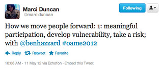 OAME 2012 | by benhazzard (learning together)