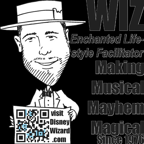 Wiz animated profile, life size | by Dr. Disney Wizard