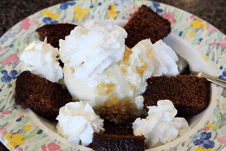 Gingerbread sundae, Mark's Kitchen, Takoma Park, Maryland | by Eating In Translation