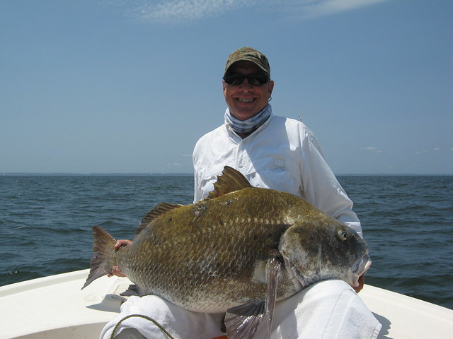 Courtesy of Tim Campbell, holding a black drum