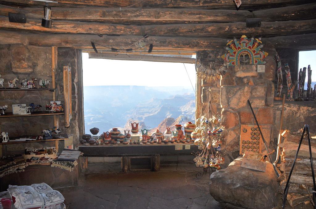 Grand Canyon Nat Park Desert View Watchtower Interior 006