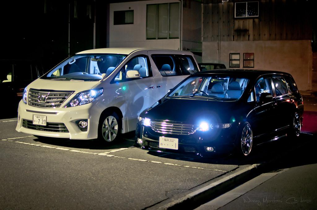 Toyota Honda >> Toyota Alphard 20 Kouki & Honda Odyssey RB1 Kouki | Toyota A… | Flickr