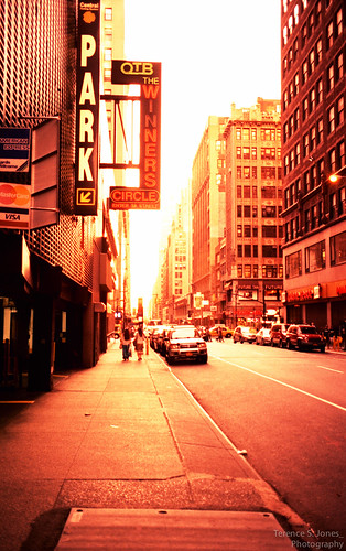 NYC cross processed | by Terence S. Jones
