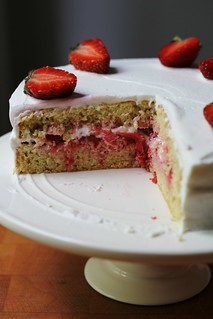 french strawberry cake | by awhiskandaspoon