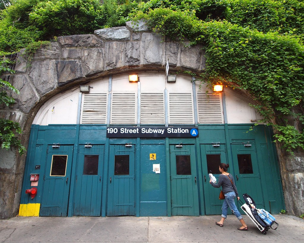 190 Street Subway Station Entrance Washington Heights Ne
