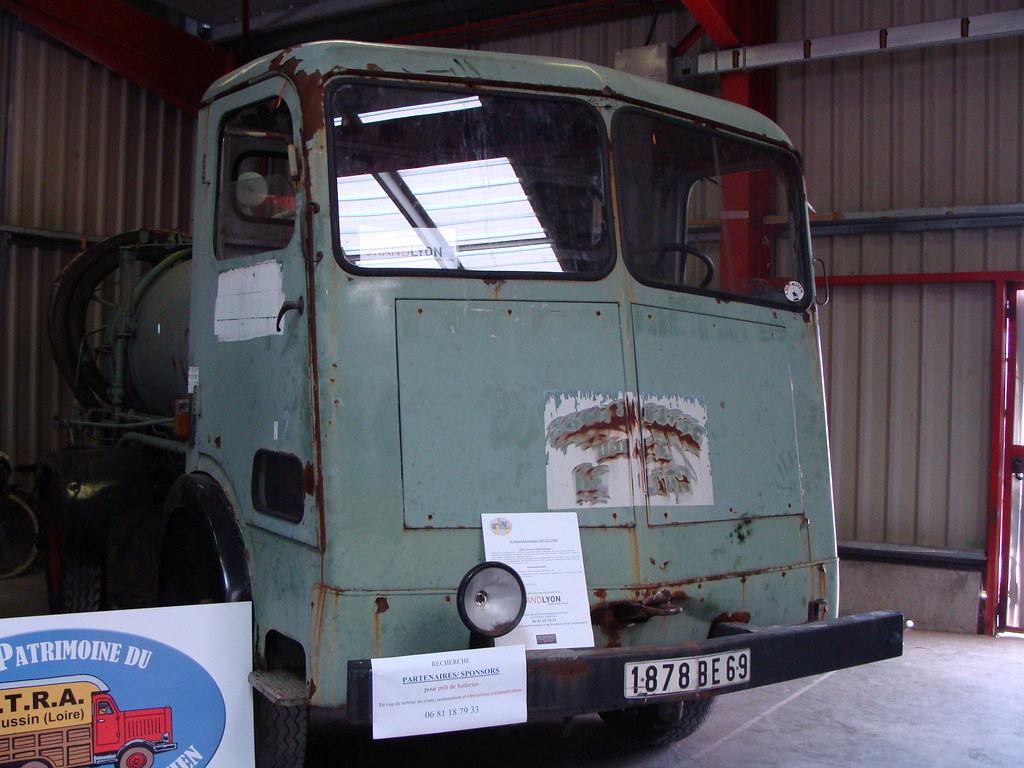 sovel camion electrique 1960