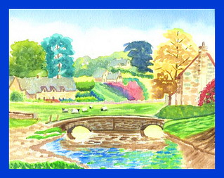 Cotswolds Watercolor | by Mary (No Multiple Invites Please)