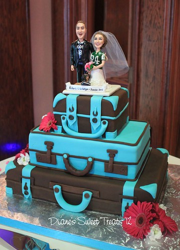 Katelyn and Bob's wedding cake | by Diane Burke - moving to ipernity