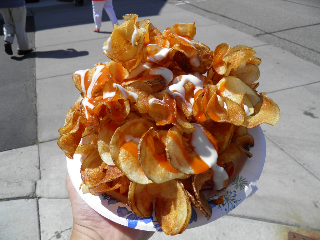 Buffalo and Blue Cheese Ribbon Fries | Served by Thomas ...