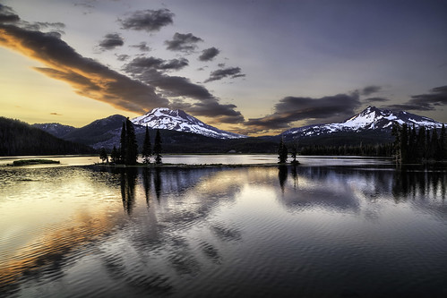 Sparks Lake Sunset 2012 | by chasingthelight10