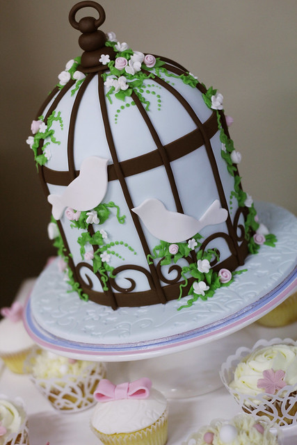 bird cage wedding cake bird cage cake flickr photo 11776