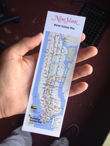 New York Magazine's free subway map only shows Manhattan ...
