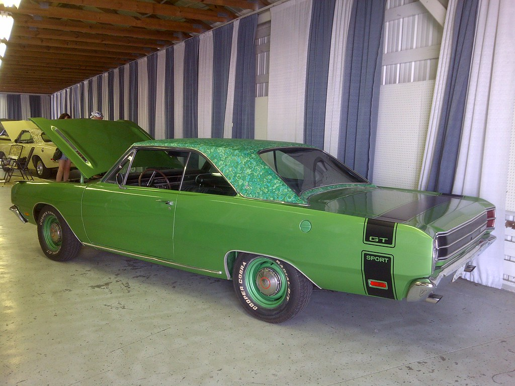 1969 Dodge Dart With Mod Top Roof Groovy Artistmac Flickr