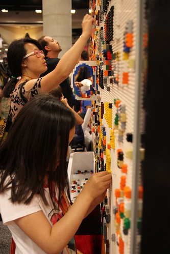 Comic-Con: Lego Wall | by KPBS