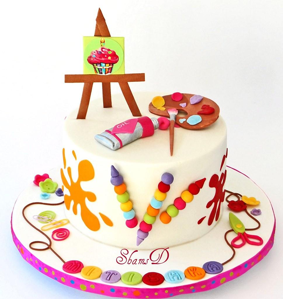 Cake Art N R Colony : Art n Craft Cake SHAMIMA DESAI Flickr