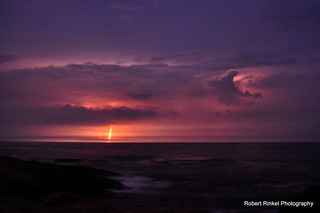 Passing cold front delivering lightning and cooler weather. | by robert.rinkel
