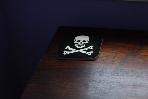 Skull coasters | by Skulls and Ponies