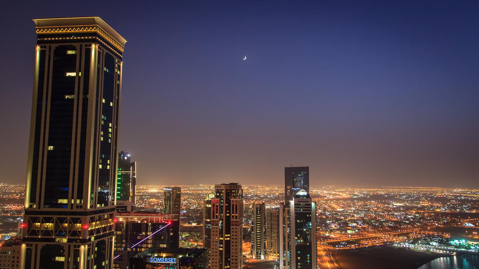Ramadan in Doha's West Bay