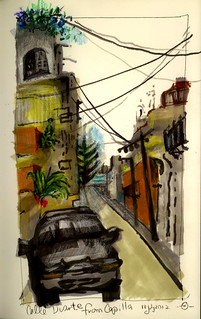Calle Duarte from Capilla | by Marcia Milner-Brage