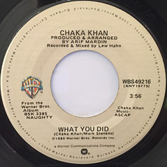 CHAKA KAHN:CLOUDS(LABEL SIDE-B)