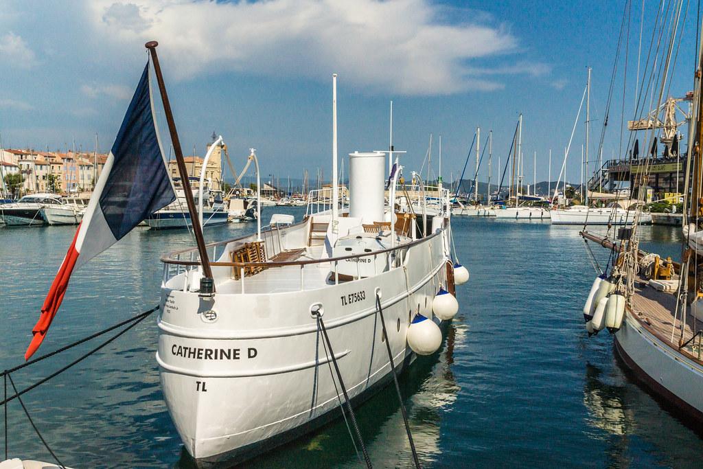 Yacht catherine d vieux port de la ciotat yacht cather flickr - Restaurant port la ciotat ...