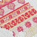 Bunny rabbit cross stitch detail