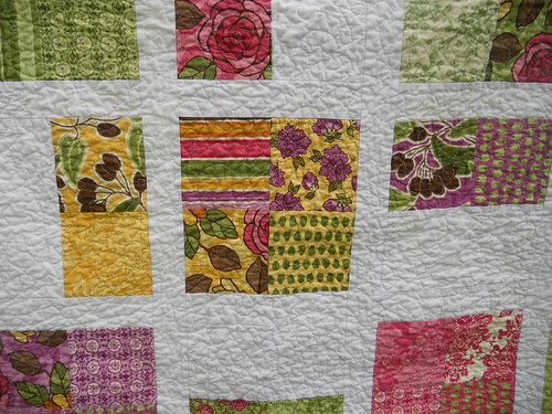 Closeup of Quilts for Kids charity Quilt | by stitchsister