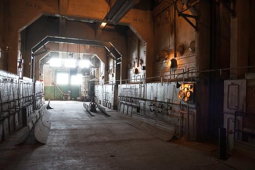 Steam Boiler Room
