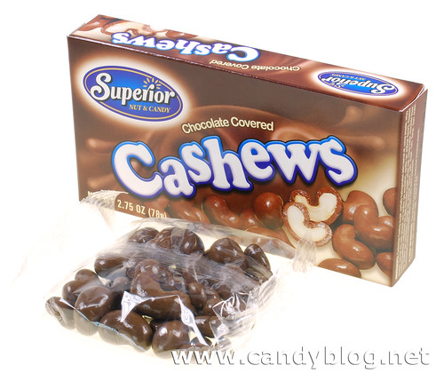 Superior Nut & Candy Chocolate Covered Cashews | by cybele-