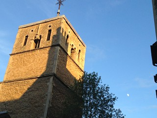 Moon and shadow, St Benet's Church | by BillT